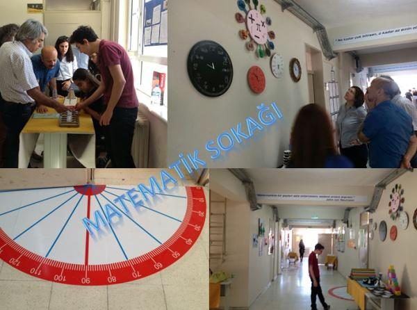 Matematik Sokağı Kipa 10 Yıl Anadolu Lisesi
